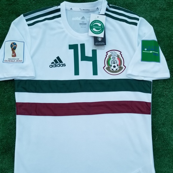 best loved be668 ff473 2018 Mexico away soccer jersey Hernandez NWT